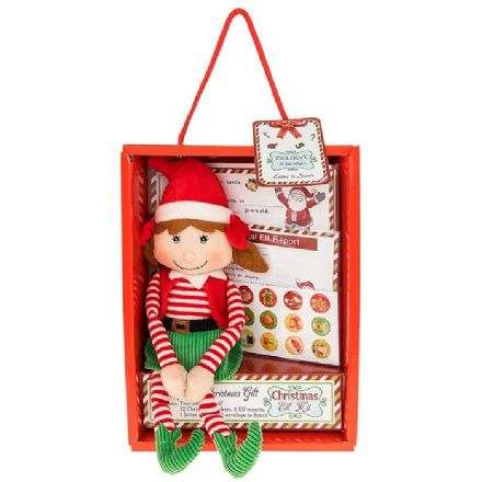 Xmas Elf Gift Set Girl